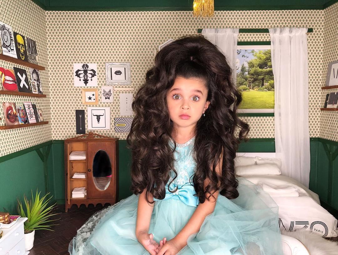 51548259 1257641421067967 4014634240161959651 n - Você ficará surpreso ao ver o cabelo dessa menina de 5 anos!