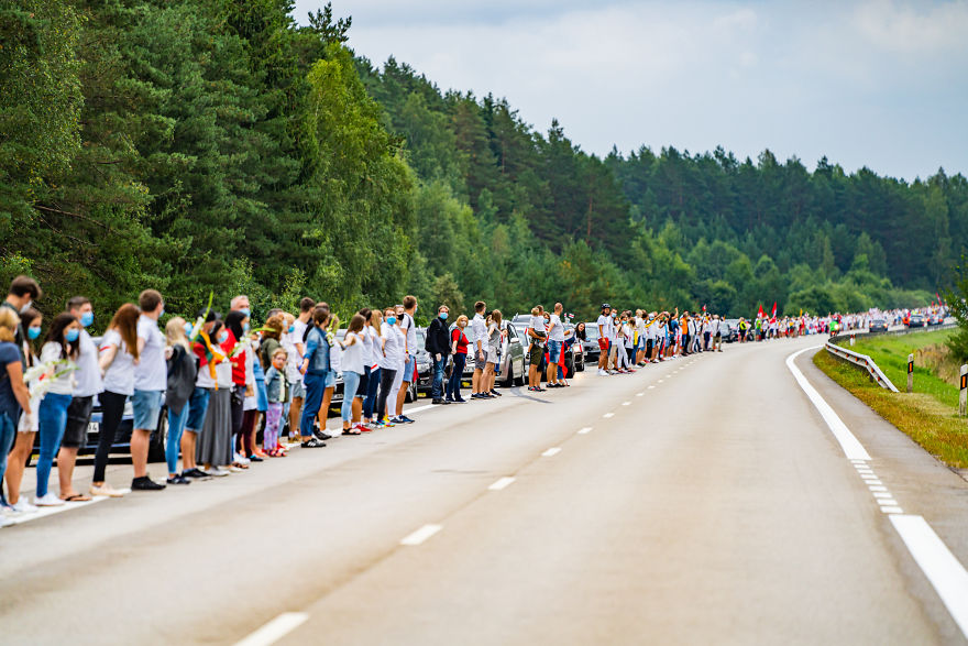 V1 05137 5f441cbf4a0ab 880 - Uma corrente humana com 50 mil lituanos em apoio a democracia do seu vizinho Belarus