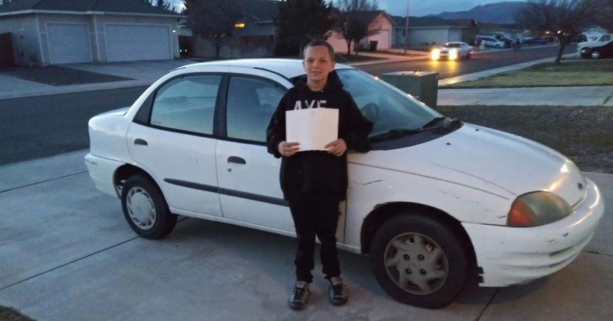 Design sem nome 68 - Menino de 13 anos trocou seu Xbox por um carro para sua mãe. Eu não queria que ele andasse tanto