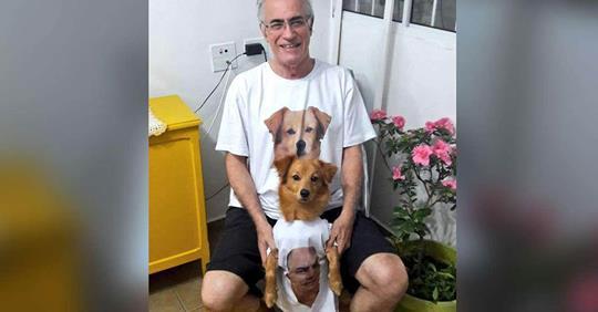g26 - Pai não queria um cachorro em casa , 3 meses depois já o tratava como um filho