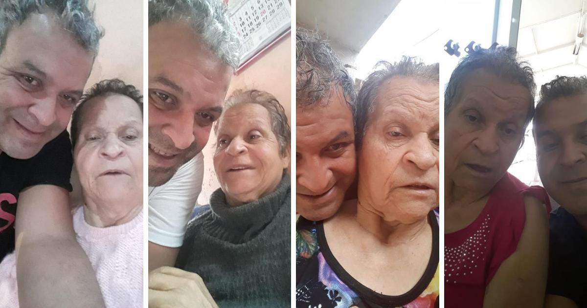 Design sem nome 2020 11 06T005229.385 - Com a mãe doente os irmãos colocaram ela no asilo, ele pediu demissão e resolveu cuidar dela sozinho.