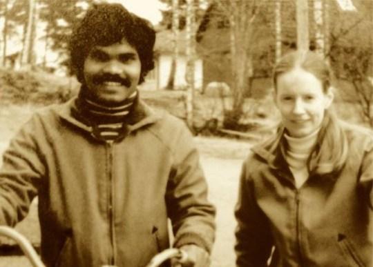 couple - Ele era um Dálit indiano, ela uma nobre sueca, ele pedalou da Índia à Suécia por amor