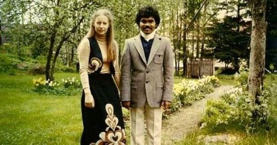 facebook couple 2 - Ele era um Dálit indiano, ela uma nobre sueca, ele pedalou da Índia à Suécia por amor
