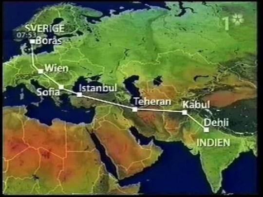 the journey - Ele era um Dálit indiano, ela uma nobre sueca, ele pedalou da Índia à Suécia por amor