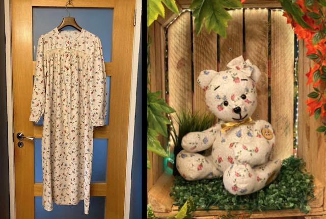 """Memory Bear 3 Mary Mac Facebook - Jovem cria """"ursos memoráveis"""" para pessoas de luto com as roupas de seus entes queridos"""