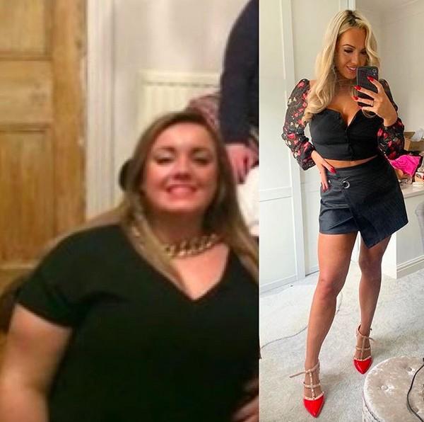 captura de tela 2020 02 26 as 07.07.33 - Noivo a deixa por estar acima do peso, 2 anos depois ela perde 58kg e ganha o Miss Grã-Bretanha