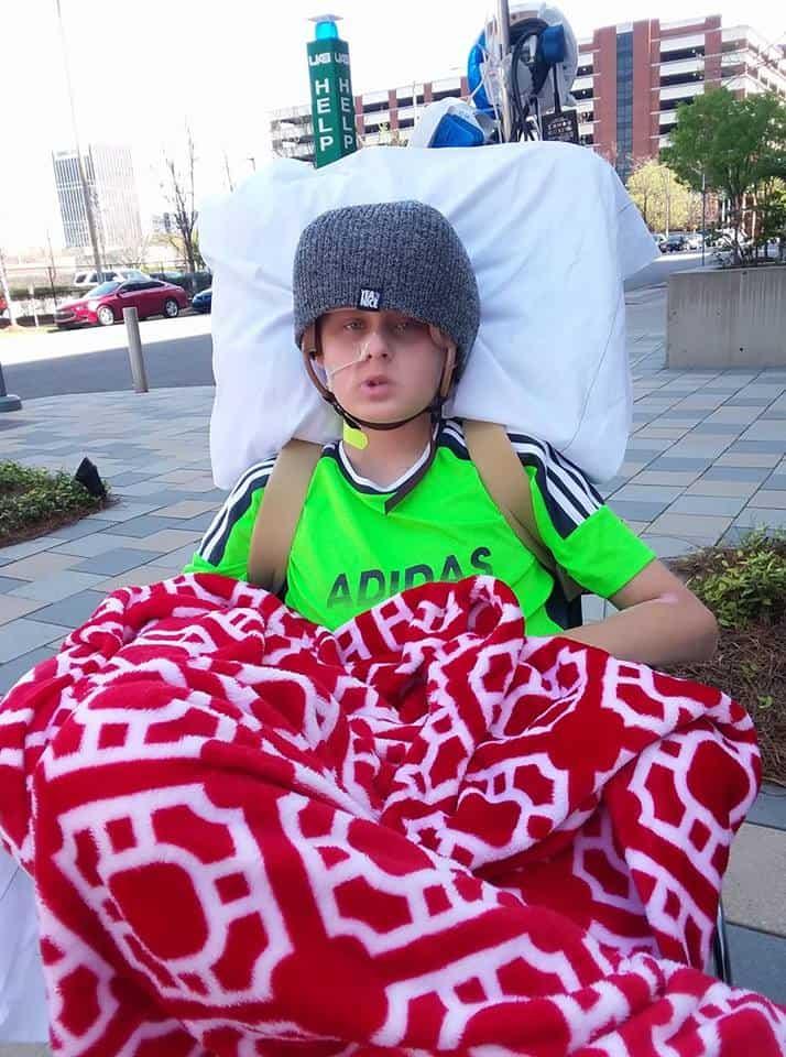 29573190 552666591782962 7328773434935077762 n - Milagre da vida : Ele acordou poucas horas depois dos pais assinarem os papéis para doar seus órgãos