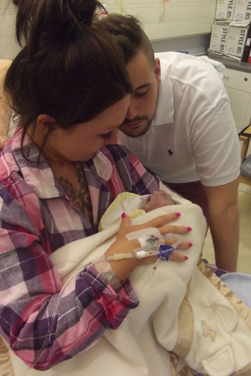Teddy Houlston 2 scaled - A mãe sabia que seu bebê iria morrer, mas recusou o aborto para que pudesse doar seus órgãos