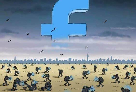 simbolo de facebook en grande - Seu celular aproxima você de quem está longe, mas leva você para longe de quem está perto